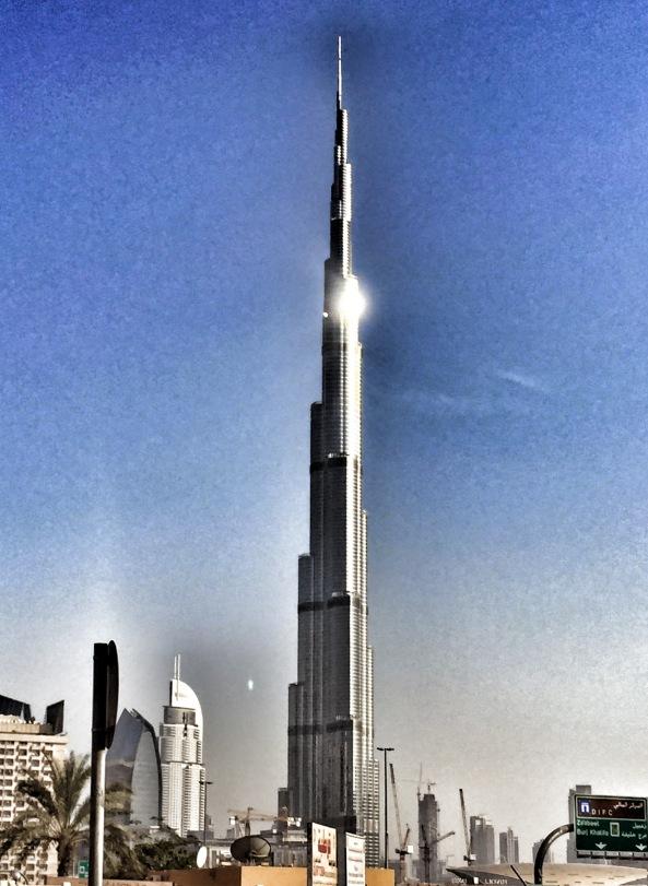 Burj Khalifa...