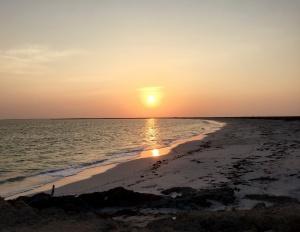 A glorious Omani sunset..