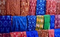 Beautiful handwoven fabrics...
