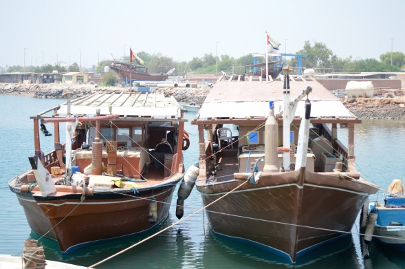 Dhows in port..