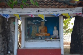 Roadside shrine...