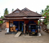 Traditional Lombok home...