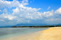 Beautiful Lombok beach...