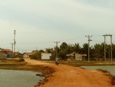main road through a village..