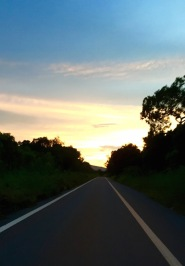 Not going to get back before dark...lonely roads on a motorbike...