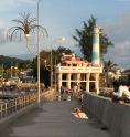Lighthouse, shrine and pier...