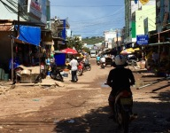 An Thoi port main road...