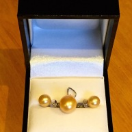 Original gold set bought in 2013... but there was one thing missing...a ring would go nicely...