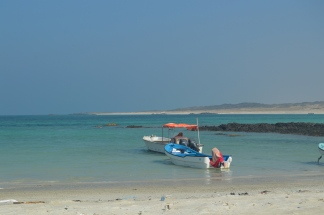 Flat calm at Snorkel beach...