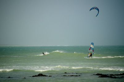 It's the place to go for windsurfing, bumped into some Ozzie surfers and it's in the top 10 worldwide...