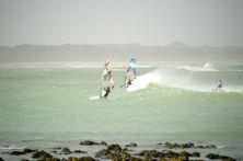 Windsurfing the monsoon seas...