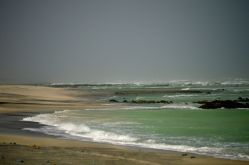 A wild coast in monsoon...
