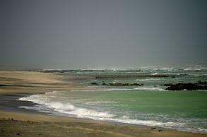 A wild coast in monsoon...