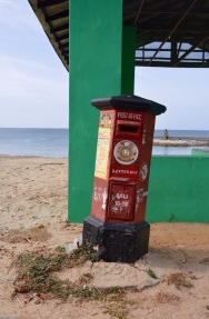 Post box on the north coast....