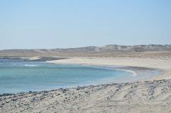 Empty beaches, Masirah east coast, February 2015...