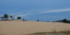Beach graveyard at Vallipuram, East coast...