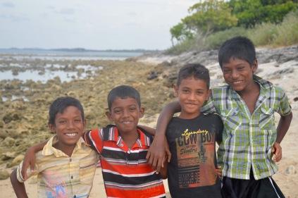 My beach helpers...