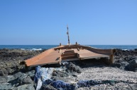 Dhow wreck on the East coast, December 2015...