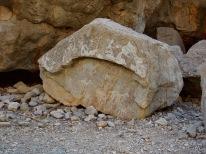 Rock paintings at Qadah...