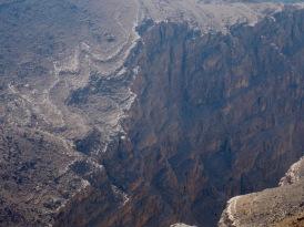 Deep, dark drop into a bottomless gorge...