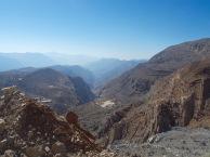 Looking towards Wadi Bih...