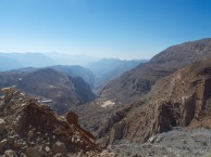 Looking towards Wadi Bih...