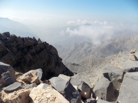 Up near the summit...