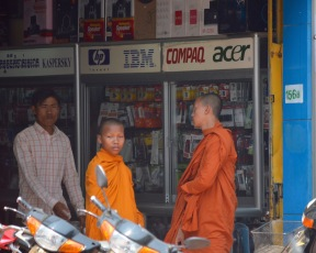 Monks and technology...