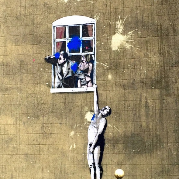 Banksy Window, Bristol