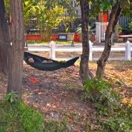 Have hammock, sleep anywhere...