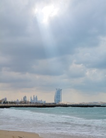Dubai winter beach...