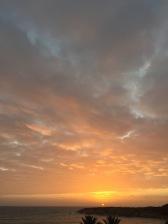 A Cyprus winter sunset...