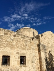 The old church in Emba village...