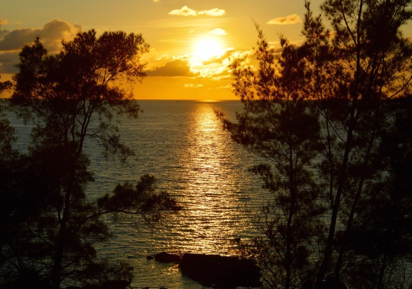2-Sunset at the Tip of Borneo...