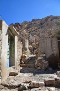 Tiny, narrow village alleys...