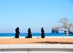 Enjoying a walk at Khorfakkan...