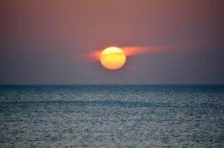 Peaceful sunset......