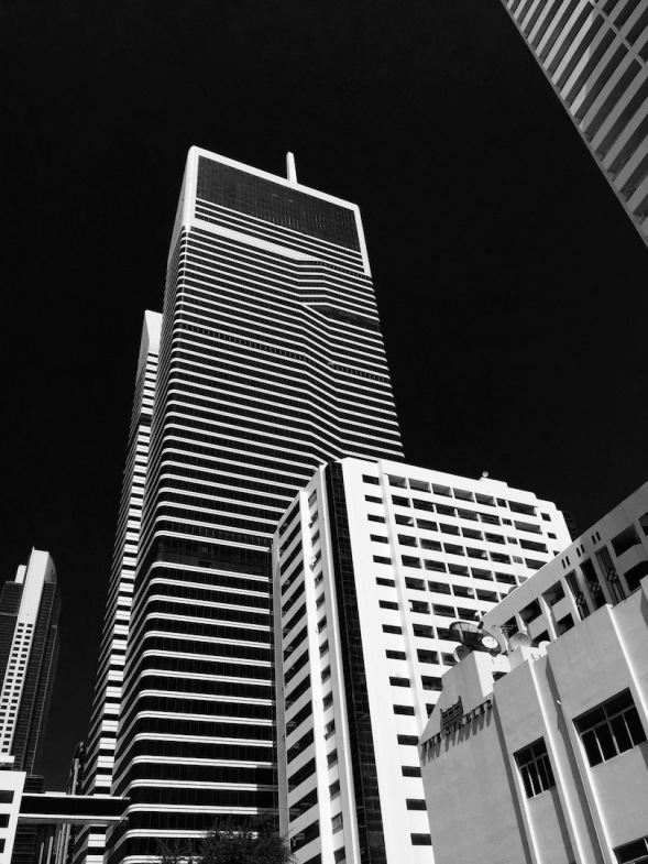 8-Used the Noir filter on this building, couldn't resist trying it, owing to the design...