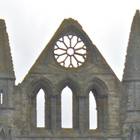 Monday Windows: Whitby Abbey