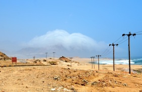 Wild scenery at Had been beach, S.Oman....