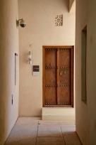 The Armoury door....