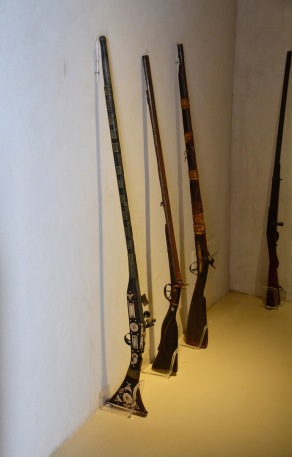 Guns in the armoury....