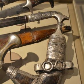Traditional Khanjar, or dagger...