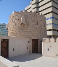 The original turret....
