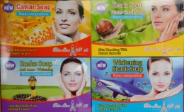 All sorts of weird and wonderful soap on sale....does it work?