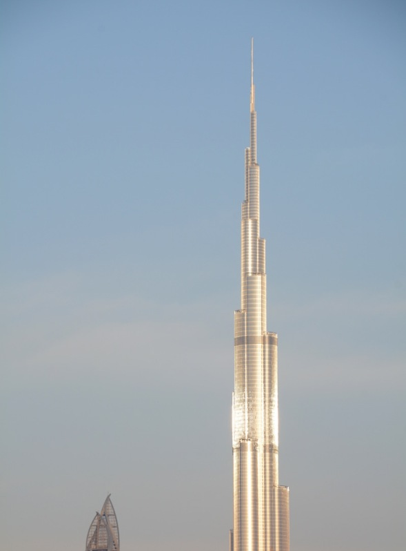 Towering above it's neighbours...