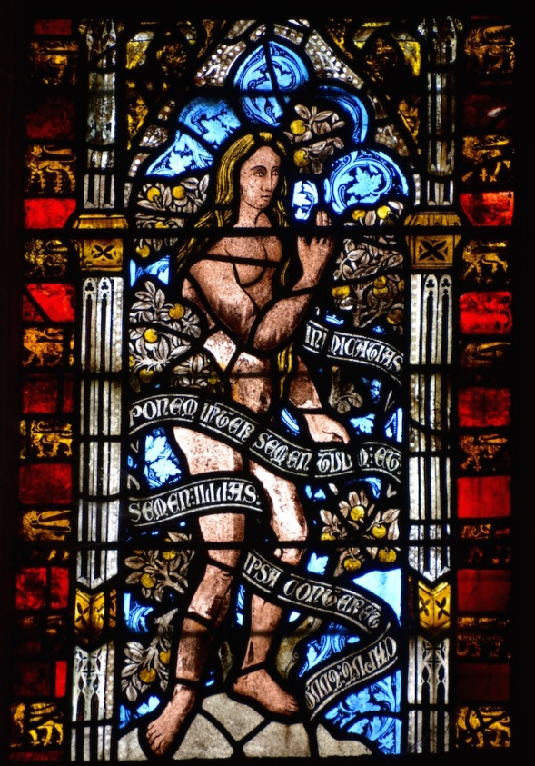 From the Lady chapel windows...