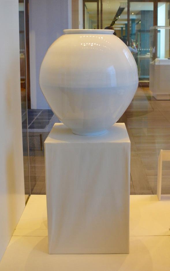 Moon Vase from Korea c 1947....