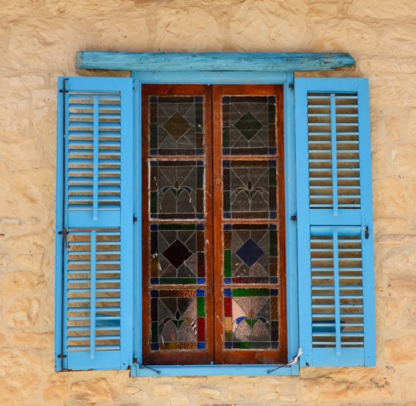 Traditional window....
