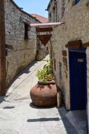 A pithary ( pot) on a side alley....